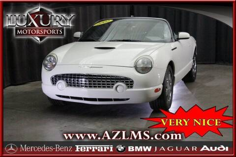 2002 Ford Thunderbird for sale at Luxury Motorsports in Phoenix AZ
