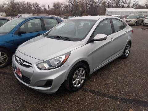 2013 Hyundai Accent for sale at L & J Motors in Mandan ND