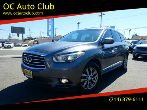 2015 Infiniti QX60 for sale at OC Auto Club in Midway City CA