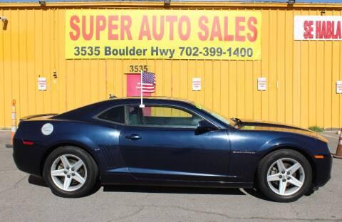 2011 Chevrolet Camaro for sale at Super Auto Sales in Las Vegas NV