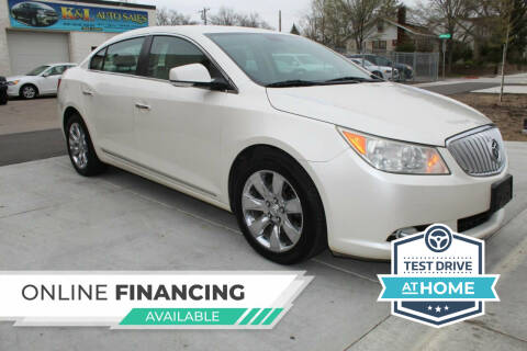 2011 Buick LaCrosse for sale at K & L Auto Sales in Saint Paul MN