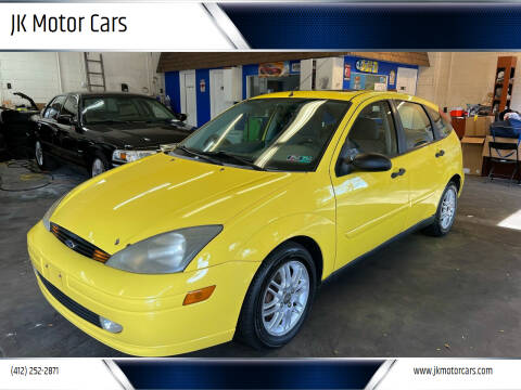2003 Ford Focus for sale at JK Motor Cars in Pittsburgh PA