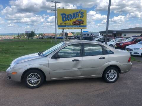 2007 Ford Focus for sale at Blakes Auto Sales in Rice Lake WI