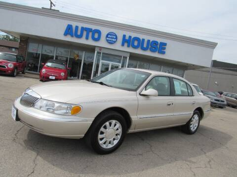 1999 Lincoln Continental for sale at Auto House Motors in Downers Grove IL