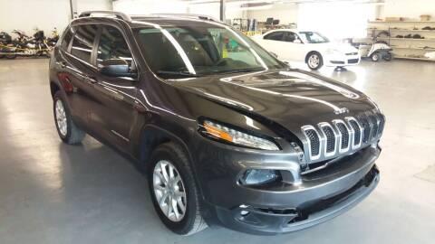 2017 Jeep Cherokee for sale at Adams Enterprises in Knightstown IN
