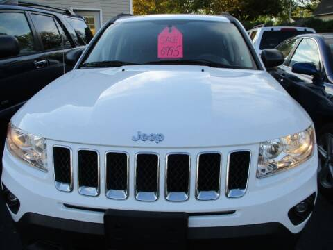 2011 Jeep Compass for sale at SPRINGFIELD AUTO SALES in Springfield WI
