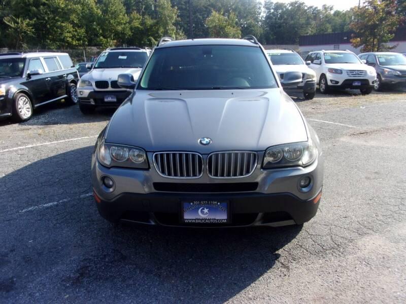 2010 BMW X3 for sale at Balic Autos Inc in Lanham MD