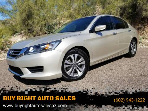 2013 Honda Accord for sale at BUY RIGHT AUTO SALES in Phoenix AZ