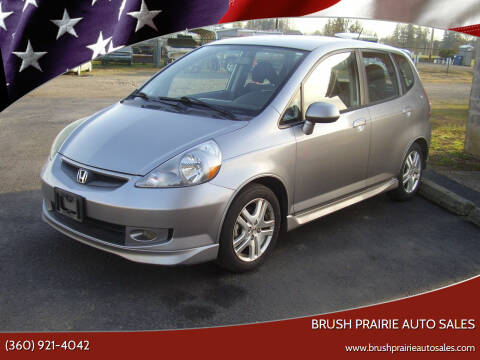 2008 Honda Fit for sale at Brush Prairie Auto Sales in Battle Ground WA
