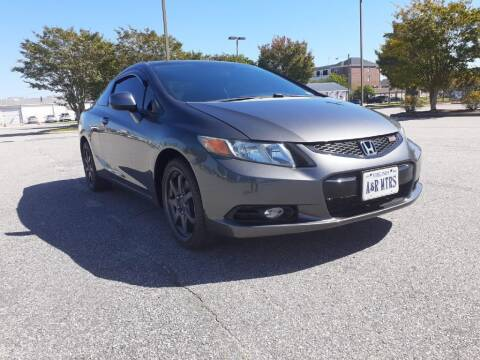2012 Honda Civic for sale at A&R MOTORS in Portsmouth VA