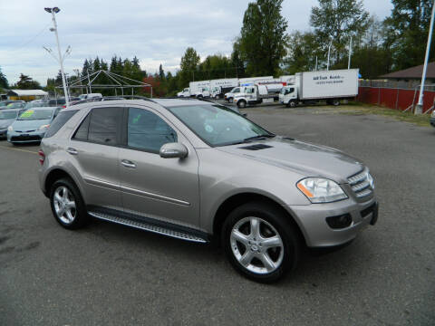 2007 Mercedes-Benz M-Class for sale at J & R Motorsports in Lynnwood WA