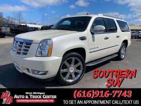 2013 Cadillac Escalade ESV for sale at West Michigan Auto and Truck Center in Cedar Springs MI
