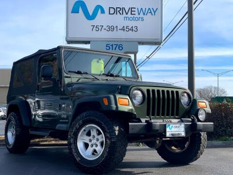 2006 Jeep Wrangler for sale at Driveway Motors in Virginia Beach VA
