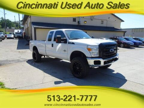 2014 Ford F-250 Super Duty for sale at Cincinnati Used Auto Sales in Cincinnati OH