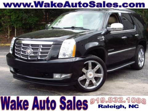 2013 Cadillac Escalade for sale at Wake Auto Sales Inc in Raleigh NC