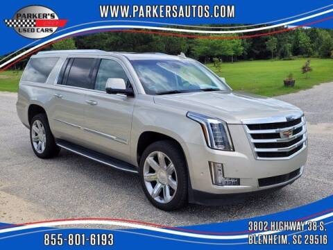 2017 Cadillac Escalade ESV for sale at Parker's Used Cars in Blenheim SC