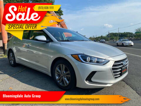 2018 Hyundai Elantra for sale at Bloomingdale Auto Group - The Car House in Butler NJ