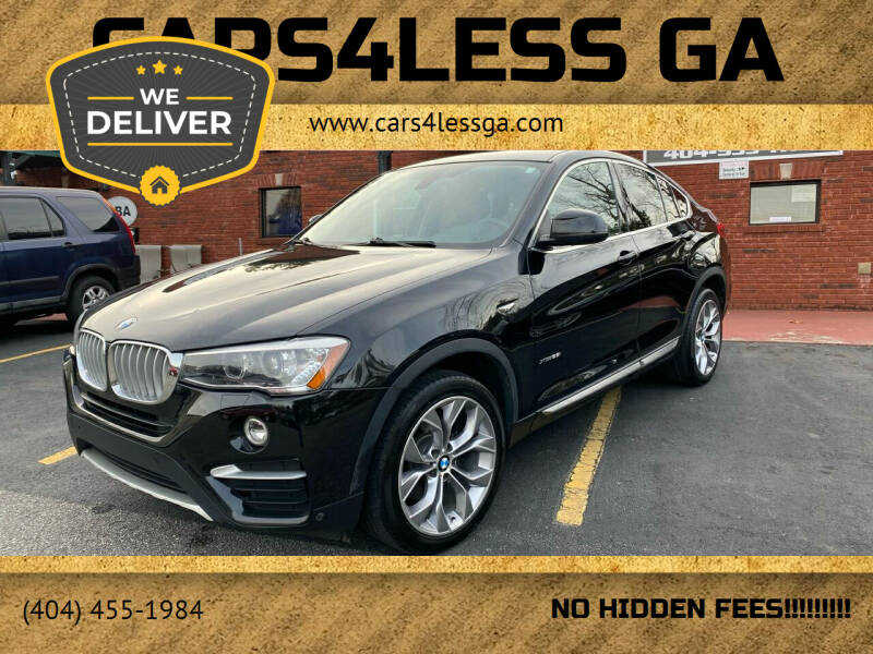 2017 BMW X4 for sale at Cars4Less GA in Alpharetta GA