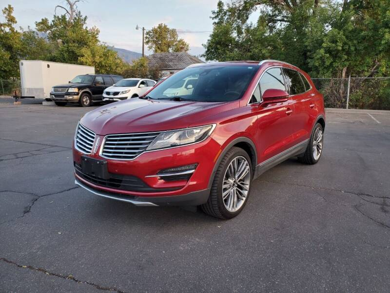 2015 Lincoln MKC for sale at UTAH AUTO EXCHANGE INC in Midvale UT