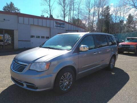 2014 Chrysler Town and Country for sale at Pepp Motors in Marquette MI