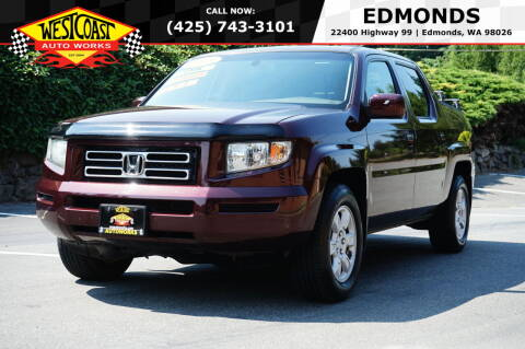 2008 Honda Ridgeline for sale at West Coast Auto Works in Edmonds WA