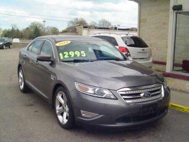 2011 Ford Taurus for sale at G & L Auto Sales Inc in Roseville MI