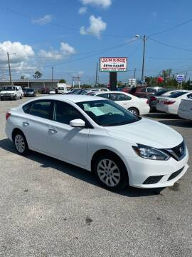 2018 Nissan Sentra for sale at Jamrock Auto Sales of Panama City in Panama City FL
