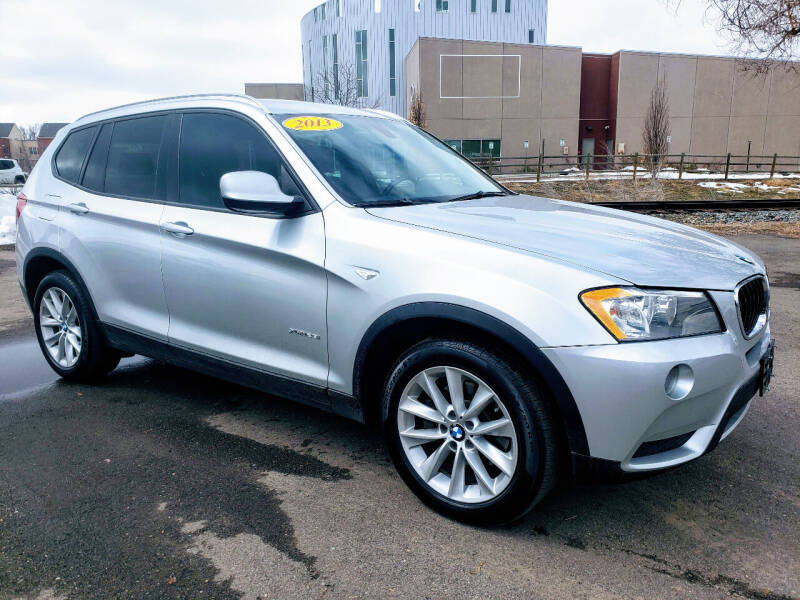 2013 BMW X3 for sale at J & M PRECISION AUTOMOTIVE, INC in Fort Collins CO