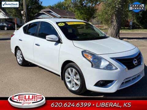 2015 Nissan Versa for sale at Lewis Chevrolet Buick of Liberal in Liberal KS