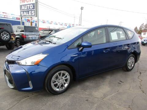 2016 Toyota Prius v for sale at TRI CITY AUTO SALES LLC in Menasha WI