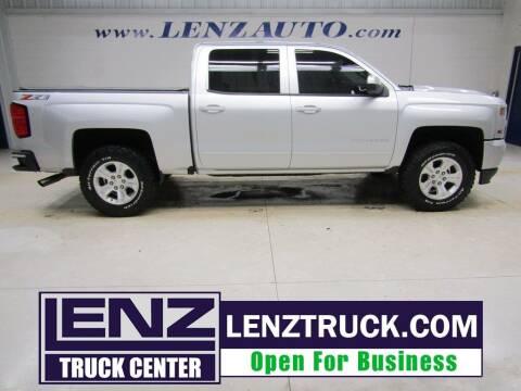 2018 Chevrolet Silverado 1500 for sale at LENZ TRUCK CENTER in Fond Du Lac WI