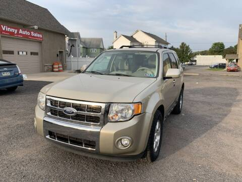 2011 Ford Escape for sale at VINNY AUTO SALE in Duryea PA