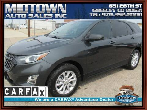 2020 Chevrolet Equinox for sale at MIDTOWN AUTO SALES INC in Greeley CO