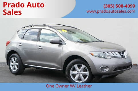2010 Nissan Murano for sale at Prado Auto Sales in Miami FL