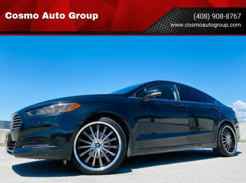 2014 Ford Fusion for sale at Cosmo Auto Group in San Jose CA