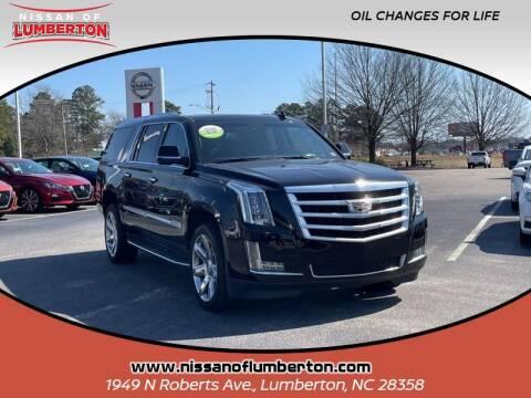 2018 Cadillac Escalade ESV for sale at Nissan of Lumberton in Lumberton NC