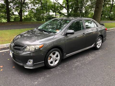 2011 Toyota Corolla for sale at Crazy Cars Auto Sale in Jersey City NJ