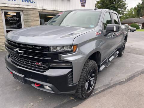 2019 Chevrolet Silverado 1500 for sale at Chilson-Wilcox Inc Lawrenceville in Lawrenceville PA