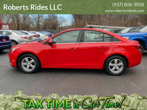 2014 Chevrolet Cruze for sale at Roberts Rides LLC in Franklin OH
