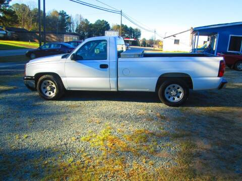 2006 Chevrolet Silverado 1500 for sale at Wright's Auto Sales in Lancaster SC