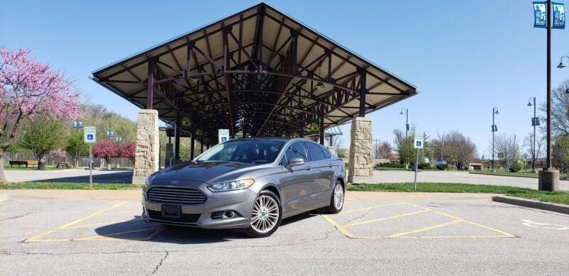 2014 Ford Fusion for sale at D&C Motor Company LLC in Merriam KS