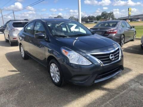 2016 Nissan Versa for sale at Rabeaux's Auto Sales in Lafayette LA
