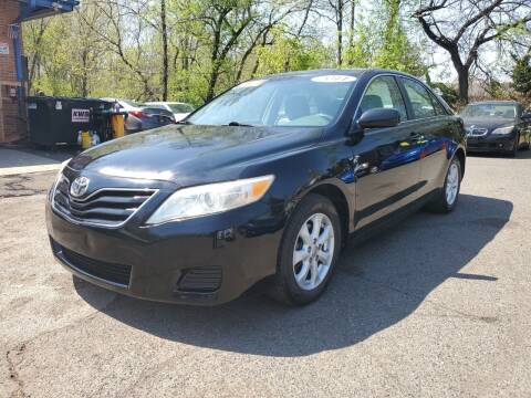 2011 Toyota Camry for sale at CENTRAL AUTO GROUP in Raritan NJ