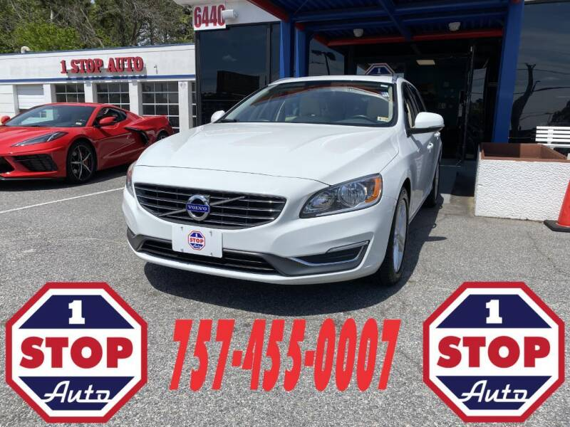 2015 Volvo V60 for sale at 1 Stop Auto in Norfolk VA