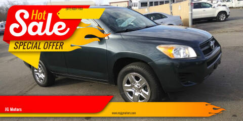 2010 Toyota RAV4 for sale at JG Motors in Worcester MA