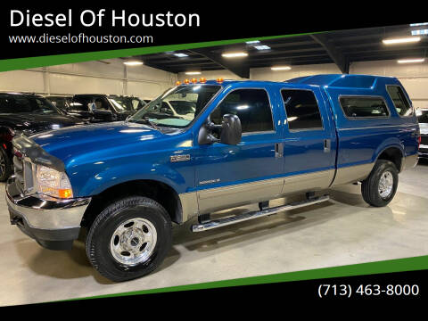 2002 Ford F-250 Super Duty for sale at Diesel Of Houston in Houston TX