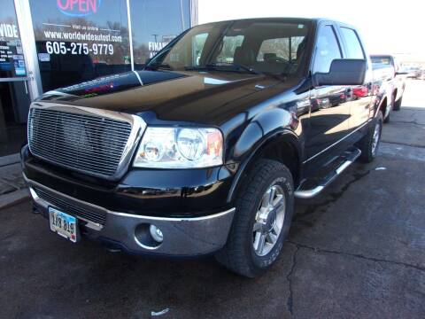 2006 Ford F-150 for sale at World Wide Automotive in Sioux Falls SD