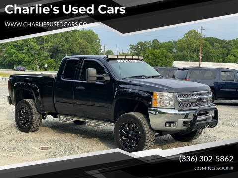 2012 Chevrolet Silverado 1500 for sale at Charlie's Used Cars in Thomasville NC
