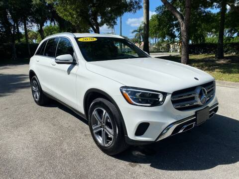2020 Mercedes-Benz GLC for sale at DELRAY AUTO MALL in Delray Beach FL