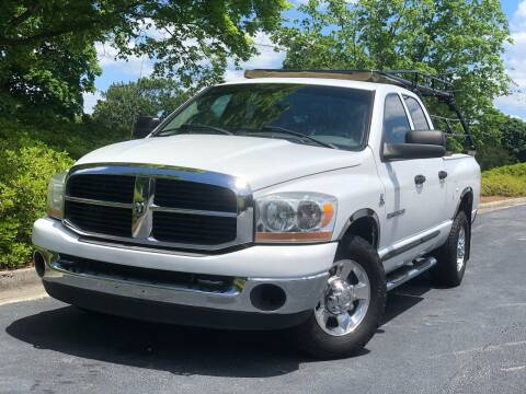 2006 Dodge Ram Pickup 2500 for sale at William D Auto Sales in Norcross GA
